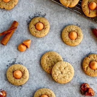 Bourbon Spiced Pumpkin Kiss Cookies