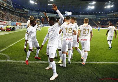 KRC Genk won met 1-5 op bezoek bij AA Gent