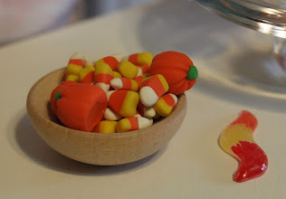 Photo: Candy corn and candy pumpkins