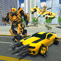 Bee Robot Transformation Wasp Game icon