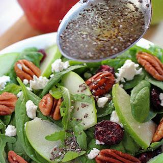Cranberry Pecan Spinach Salad.