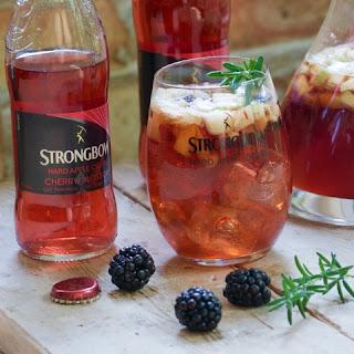 Strongbow Cherry Blossom Cider Sangria.