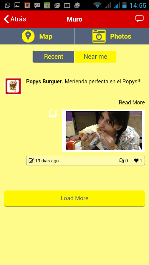 Popys Burger: captura de pantalla