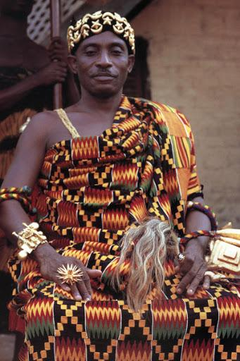 Whispers of a Woven Language - Kente Cloth