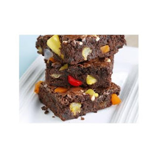 Fruit Cocktail Brownies