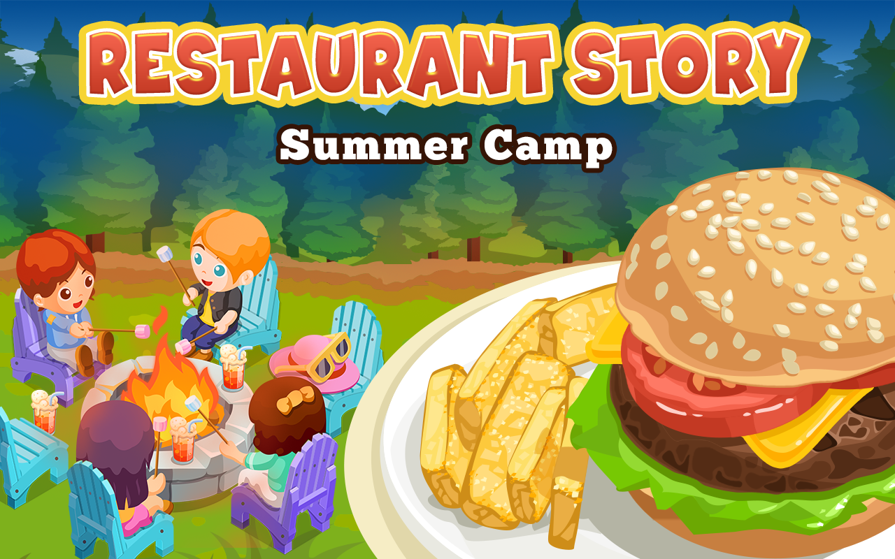Home Design Game Storm8 Id Restaurant Story Summer Camp Android Apps On Google Play