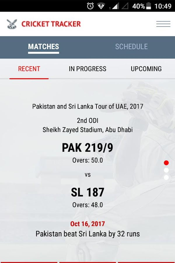 Gulf News Cricket- screenshot