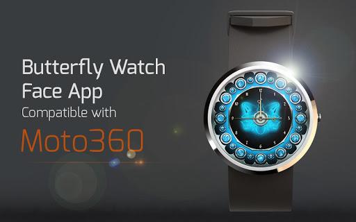 Butterfly Watch Face App