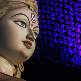 Enlighten through blessing by Sandip Banerjee - Artistic Objects Other Objects ( artistic objects, religious, culture, abstract, india,  )