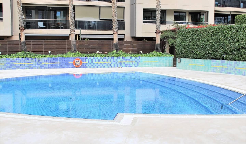 Appartement avec terrasse et piscine Barcelone