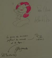 Photo: Arthur de Pins et Maïa Mazaurette - Virgin - Paris - 2008