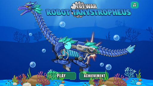 機器長頸龍 組裝機器恐龍大戰 蛇頸龍拼圖