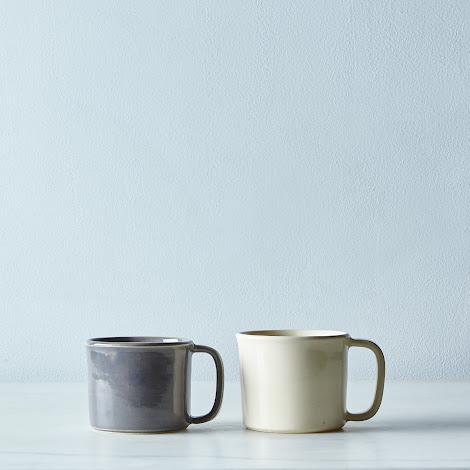 """Ceramic """"Tin Cup"""" Mug"""