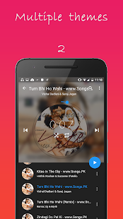 Material Music player- screenshot thumbnail