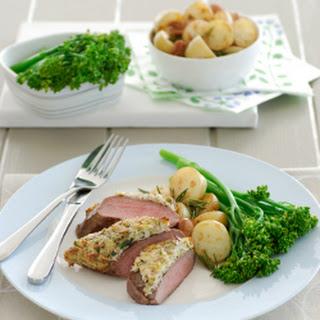 Lamb Backstrap with Pistachio and Brazil Nut Crust Recipe