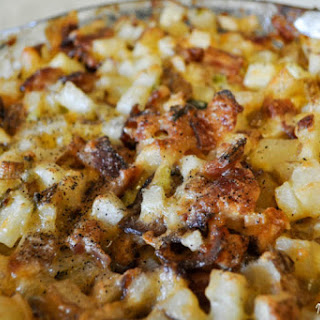 Mississippi Mud Cheesy Potatoes