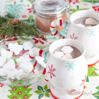 Simply Delicious Homemade Hot Cocoa