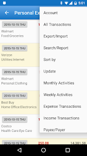 Expense Manager Screenshot 5