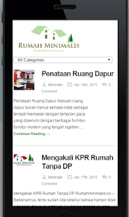 Rumah Minimalis- screenshot thumbnail