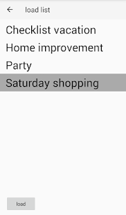 Pruedis shoppinglist- screenshot thumbnail