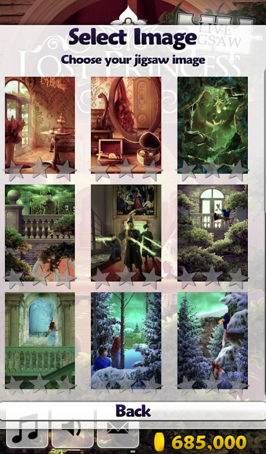 Live Jigsaws - Lost Princess- screenshot