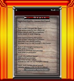 Lagu Minang dan Lirik Terbaru dan Populer - náhled