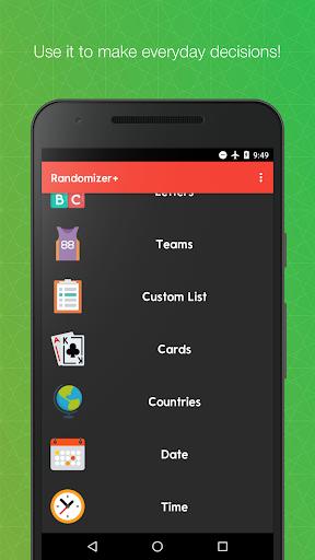 Randomizer+ Random Pick Generator - Decision Maker screenshots 2