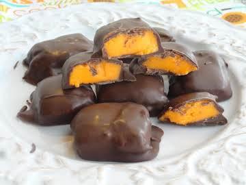 Valentine's Day Orange Chocolate Creams