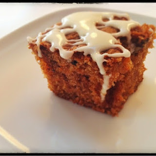 Carrot Cake Tray Bake.