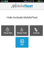 MobileFleet - náhled