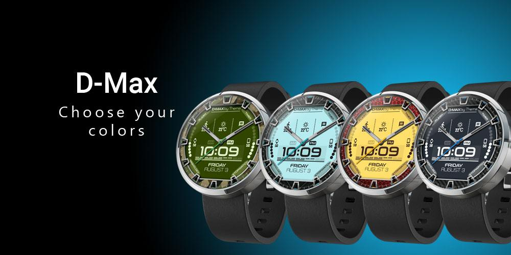 Download D-Max Watch Face & Clock Widget APK latest version