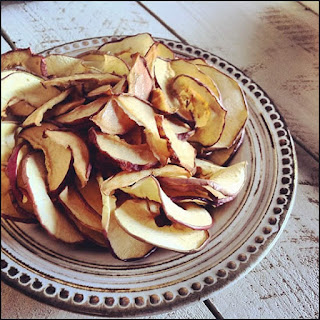 Dried Apple & Pear Chips.