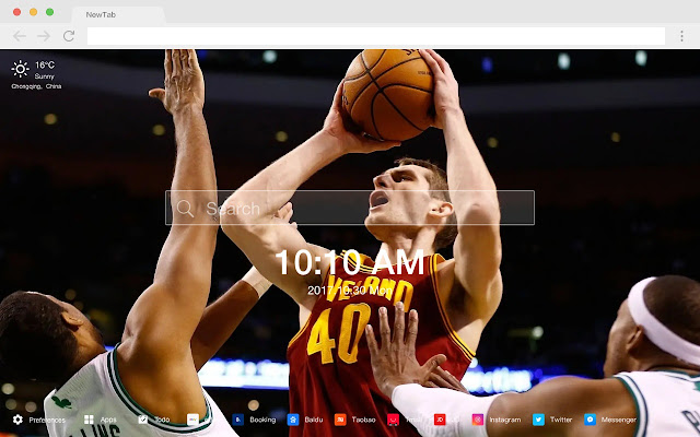 Cleveland Hot Stars HD New Tabs Theme
