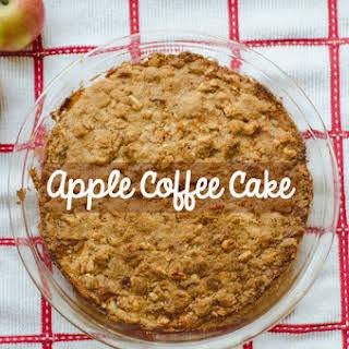 Apple Coffee Cake   Gluten Free.