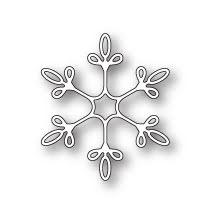 Memory Box Die - Winsome Snowflake