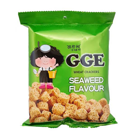 Wheat Crackers Seaweed 80g GGE