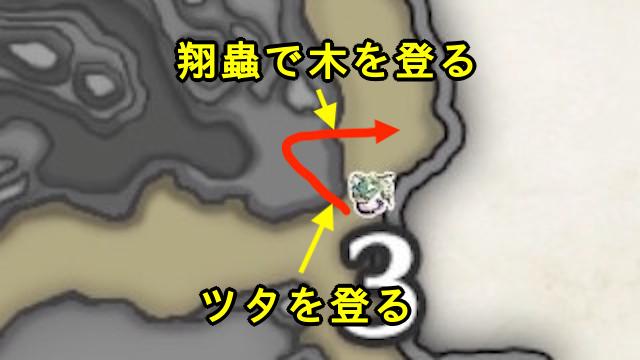 先人の遺物入手場所_大社跡百竜②