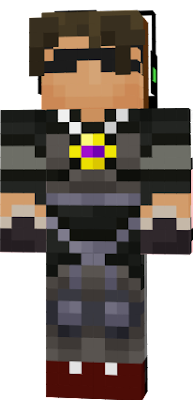 sky does minecraft skin combined with deadlox minecraft skin :D