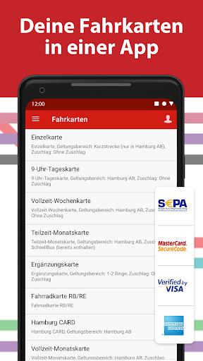 HVV - Navigation & tickets for Hamburg 4.2.6 (47) screenshots 3