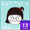 눈소녀♥ 카카오톡 테마
