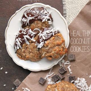 Healthy Coconut Cookies.
