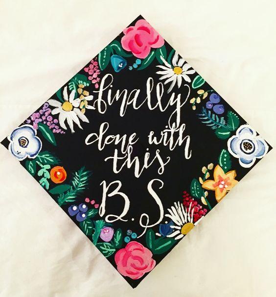 15 cap decorating ideas for graduating women her campus for Accounting graduation cap decoration