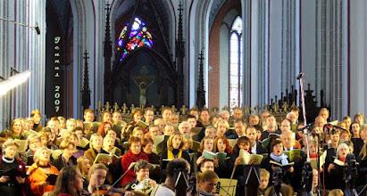 Photo: Die Schöpfung von  Joseph Haydn (1732-1809)  Jan Ernst; Dorothee Fries; Jörg Gottschick; Clemens Löschmann; Concerto Celestino und der Domkantorei Schwerin