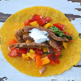 Mexican Beef Tacos.