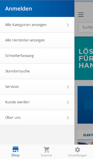 Rexel Germany Webshop App screenshot