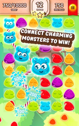 果冻怪物 - 比赛3游戏