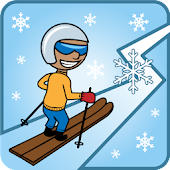 ZigZag Snow Ski Android APK Download Free By Alino Games