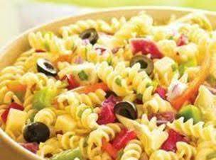 Easy  Colorful Summer Pasta Salad