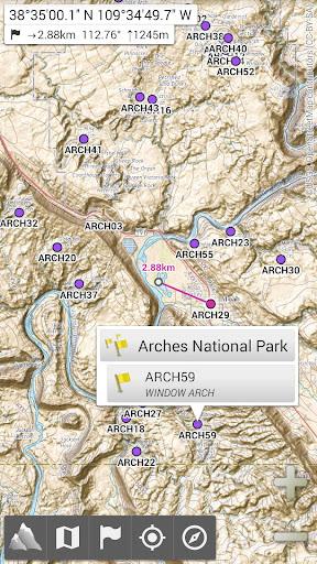 AlpineQuest Off-Road Explorer (Lite) 2.2.1 screenshots 1