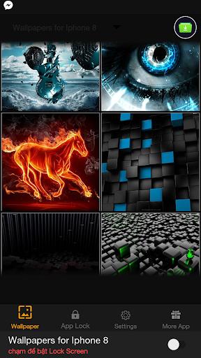 Wallpapers 4K for Iphone 8, HD Lock Screen 1.0.1 screenshots 5